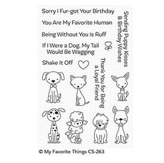 MFT: Puppy Kisses Clear Stamps, 4x6 inch
