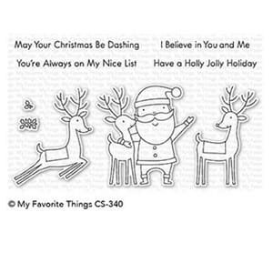 MFT: Santa & Friends Clear Stamps, 4x6 inch