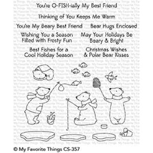 MFT: Beary Best Friends Clear Stamps, 4x8 inch