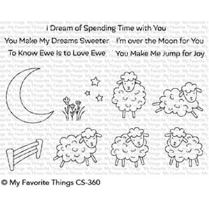 MFT: Over the Moon for Ewe Clear Stamps, 4x6 inch