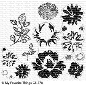 MFT: Painted Petals Clear Stamps, 4x8 inch