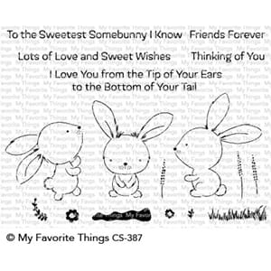 MFT: Sweetest Somebunny Clear Stamps, 4x6 inch