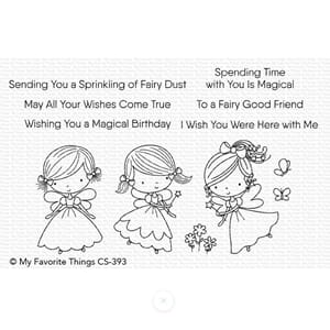 MFT: Fairy Good friends clear stamps