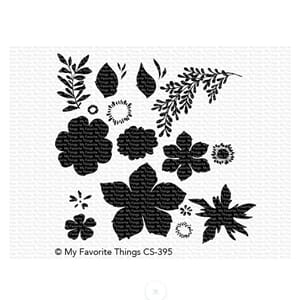 MFT: Tropical Flowers Clear stamps, 4x8 inch