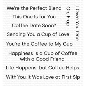 MFT: Cup of Love Clear Stamps, 4x4 inch