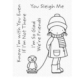 MFT: You Sleigh Me Clear Stamps, 4x6 inch