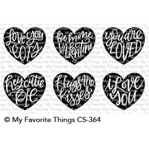 MFT: Heart Art Clear Stamps, 4x4 inch