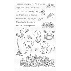 MFT: Things Piles of Fun Clear Stamps, 5x8 inch