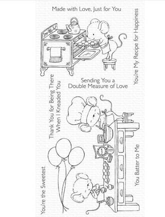 MFT: Sweet Shop Clear Stamps, 5x8 inch