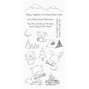 My Favorite Things Happy Campers Clear Stamps