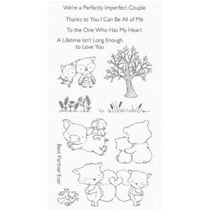 MFT: Perfect couple Clear Stamps, 4x8 inch