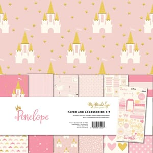 My Mind's Eye: Penelope Paper & Accessories Kit, 12x12