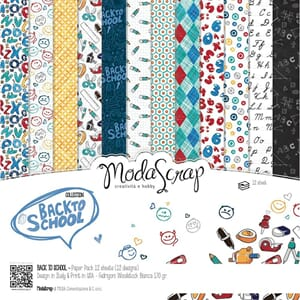 Elizabeth Craft: Back To School Paper Pack, 6x6, 12/Pkg
