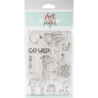 Neat & Tangled: Wild Ones Clear Stamps, 4x6 inch