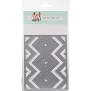 Neat & Tangled: Squares & Chevrons Cover Plate Die