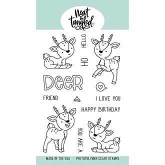 Neat & Tangled: Oh Deer Clear Stamps, 4x6 inch