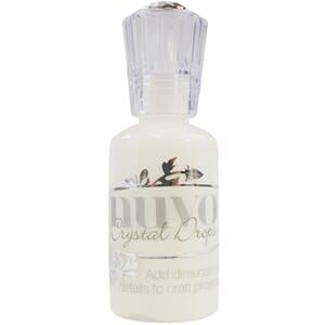 Nuvo Crystal Drops - Gloss White, 1.1oz