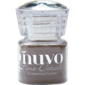 Nuvo: Copper Blush Embossing Powder Fine Detail, 20 ml