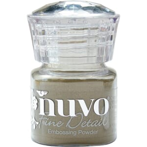 Nuvo: Classic Gold Embossing Powder Fine Detail, 20 ml