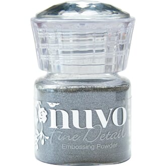 Nuvo: Classic Silver Embossing Powder Fine Detail, 20 ml