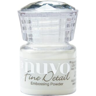 Nuvo: Crystal Clear Embossing Powder Fine Detail, 20 ml