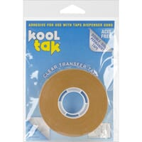 Kool Tak: Permanent Clear Dispenser Tape