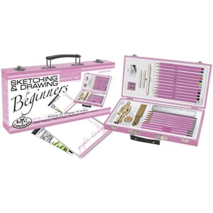 Pink Art For Beginners Artist Set - Tegne & Skisse