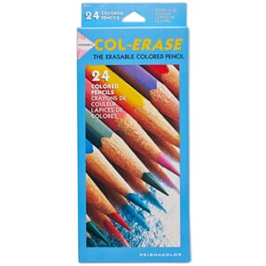 Prismacolor: Col-Erase Erasable Colored Pencils 24/Pkg