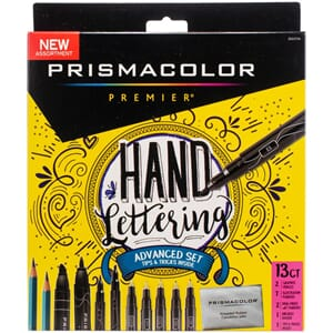 Prismacolor: Advanced Hand Lettering Set 13/Pkg