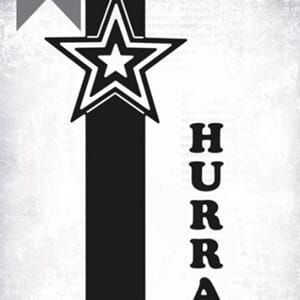 Papirdesign: Hurra dies