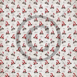 Papirdesign: Nissegrøt - Mens vi venter