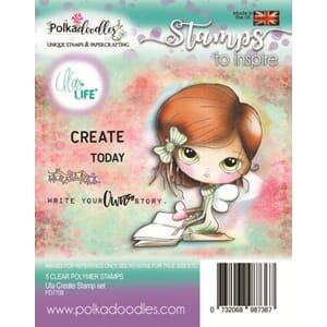 Polkadoodles: Ula Create Clear Stamps