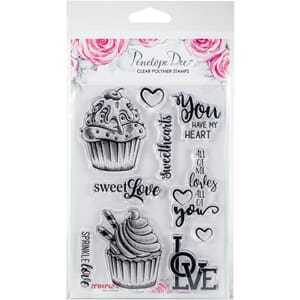 Penelope Dee: Sweet Love Cocoa Love Stamp