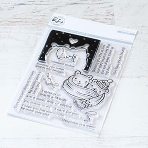 Pinkfresh Studio: Happy Hugs Clear Stamp Set, 6x8 inch