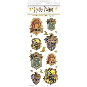 Paper House: Harry Potter Crests Sticky Pix Faux Enamel Stic