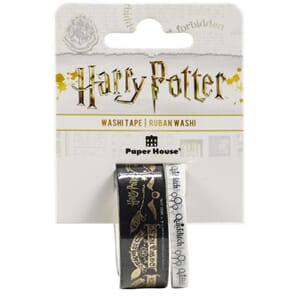 Paper House: Harry Potter - Quidditch Washi Tape, 2/Pkg