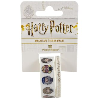 Paper House: Harry Potter - Chibi Washi Tape, 2/Pkg