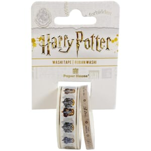 Paper House: Harry Potter - House Crests Washi Tape, 2/Pkg