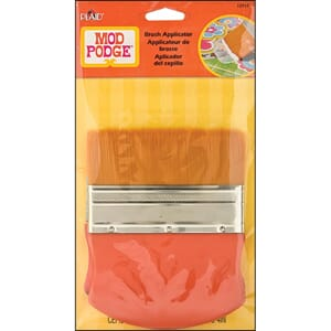 Plaid:Craft: Gold Taklon Brush Applicator, 4 inch