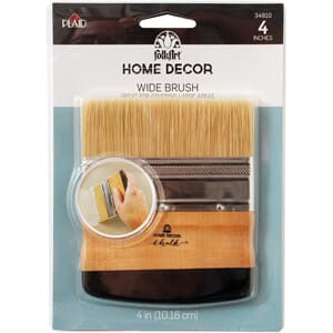 Plaid:Craft: FolkArt Home Decor Brush, 4 inch