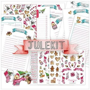 Poppydesign - Planner Julekit for Personal