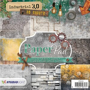 Studio Light: Industrial 3.0 Paper Pad, 6x6 inch, 36/Pkg