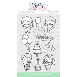 Pretty Pink Posh: Birthday Friends stamp set