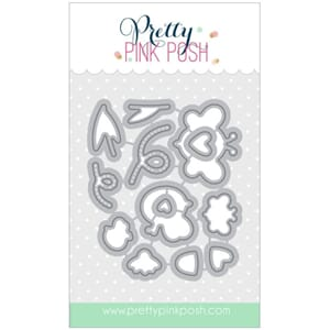 Pretty Pink Posh: Bee Friends coordinating dies, 13/Pkg