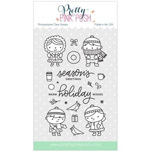 Pretty Pink Posh: Christmas Friends stamp set