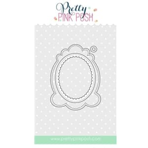 Pretty Pink Posh: Decorative Tag 1