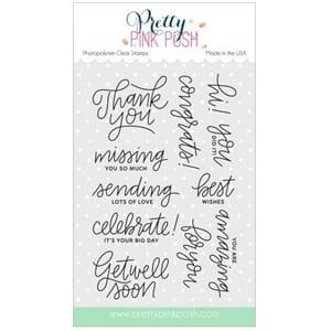 Pretty Pink Posh: Everyday Greetings stamp set