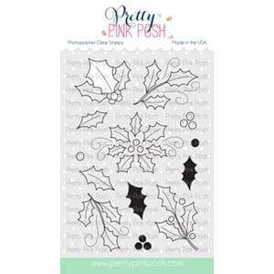 Pretty Pink Posh: Elegant Holly stamp set