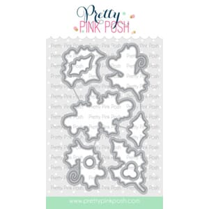 Pretty Pink Posh: Elegant Holly coordinating dies