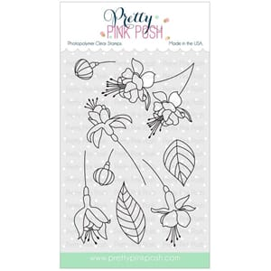 Pretty Pink Posh: Flourishing Fuchsias stamp set